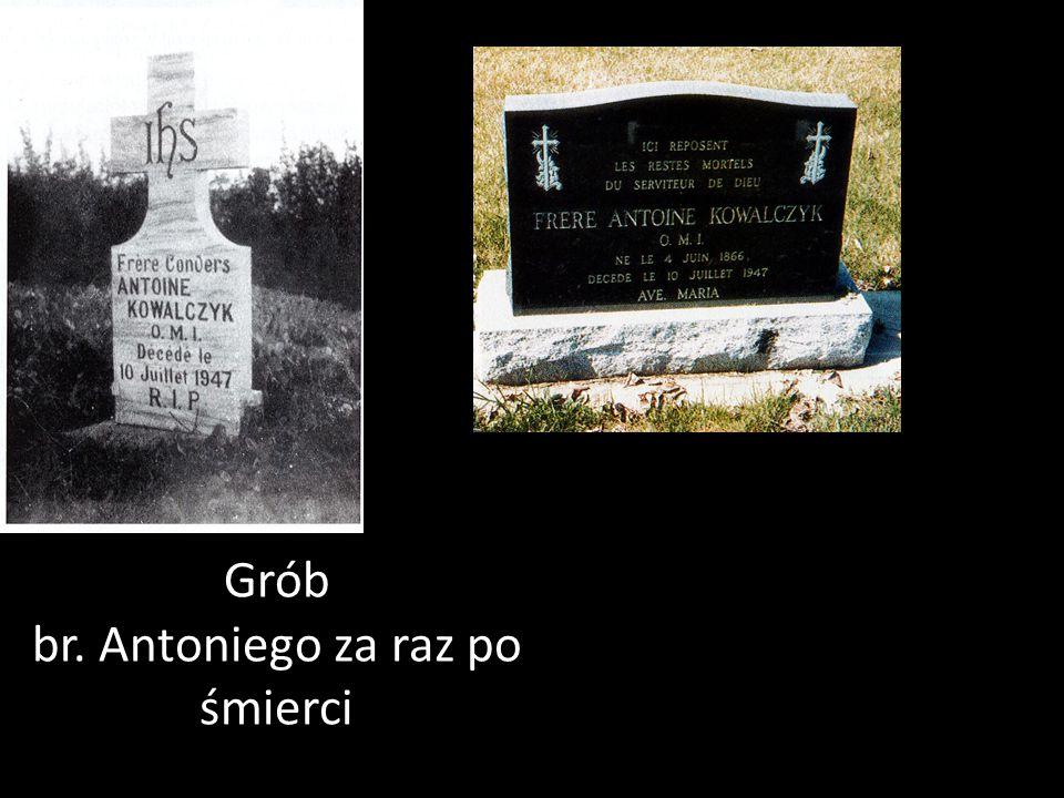 br. Antoniego za raz po śmierci