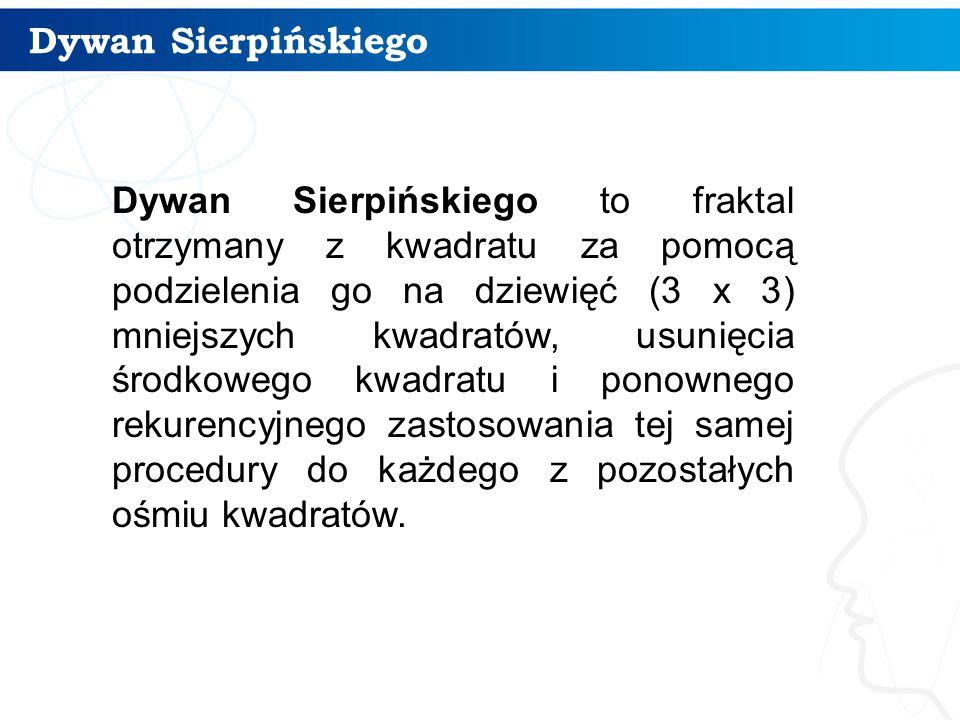 Dywan Sierpińskiego