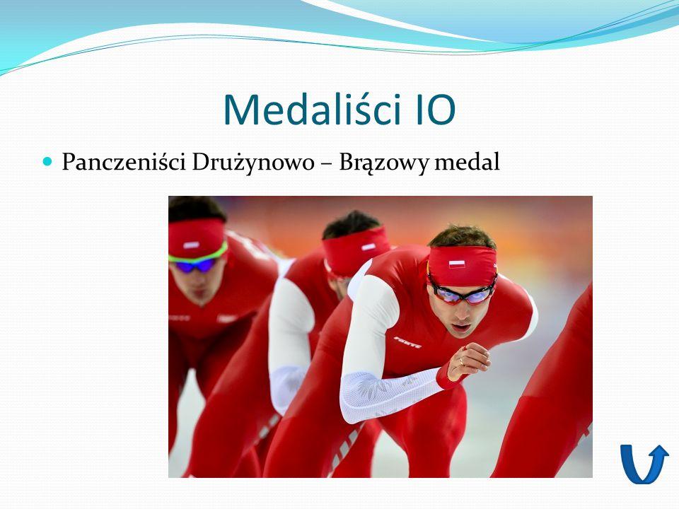 Medaliści IO Panczeniści Drużynowo – Brązowy medal