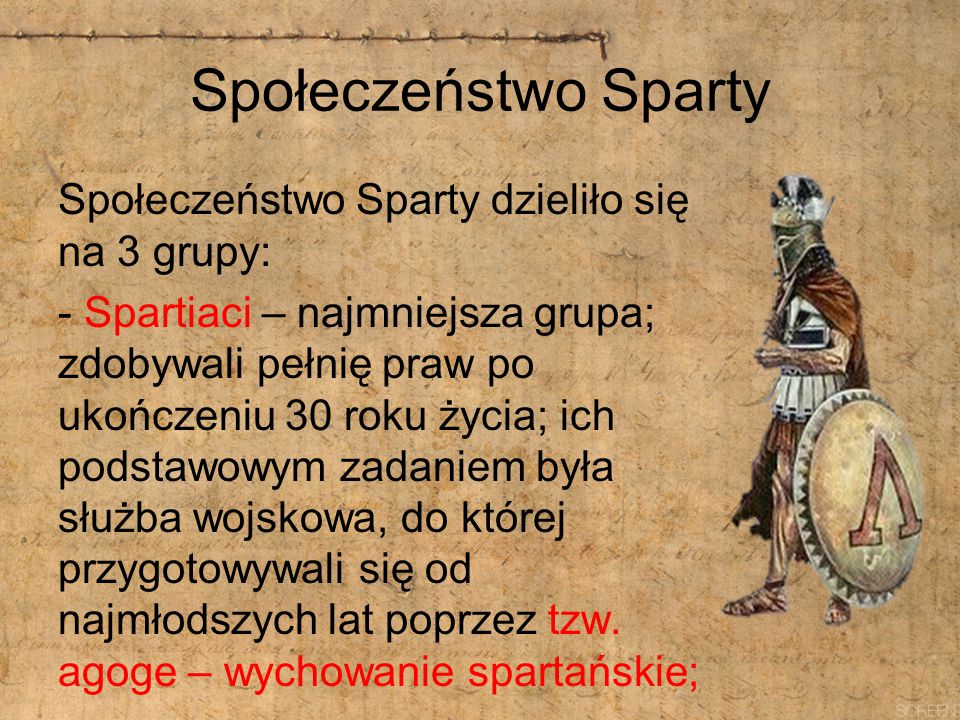 Społeczeństwo Sparty