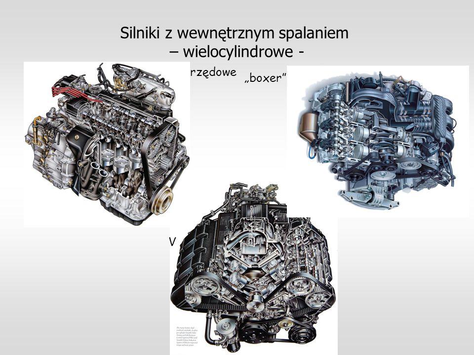 Silniki z wewnętrznym spalaniem – wielocylindrowe -