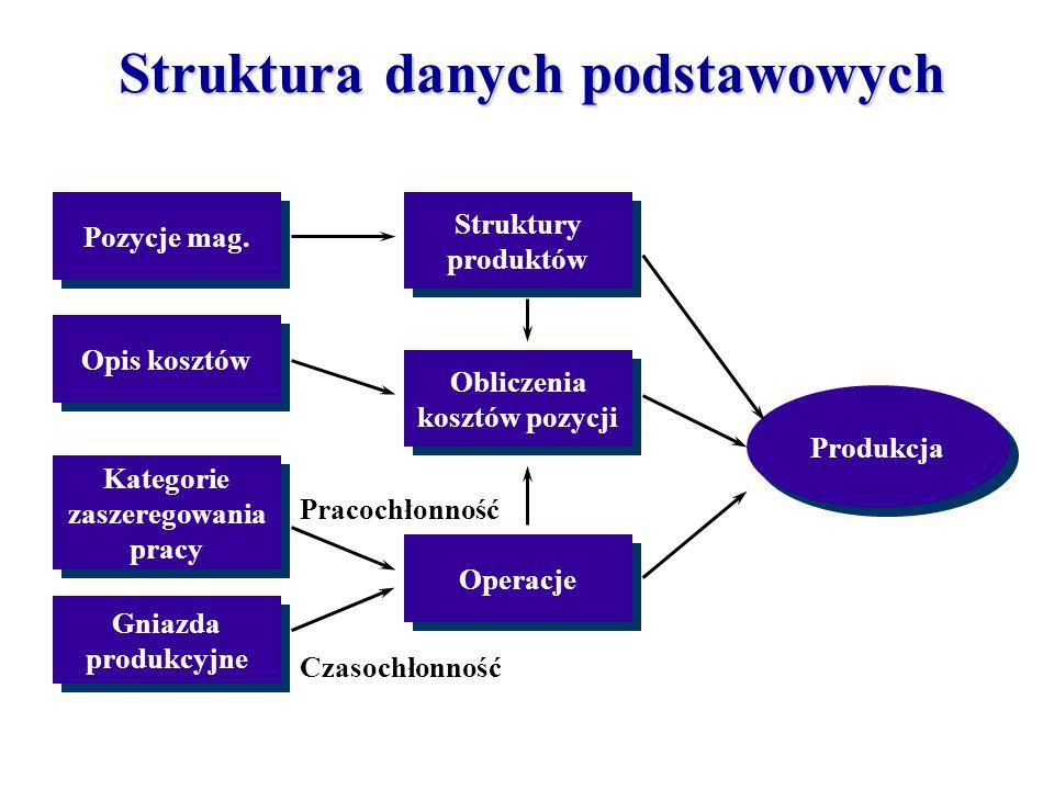Struktura danych podstawowych
