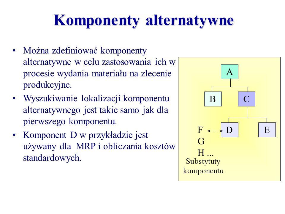 Komponenty alternatywne