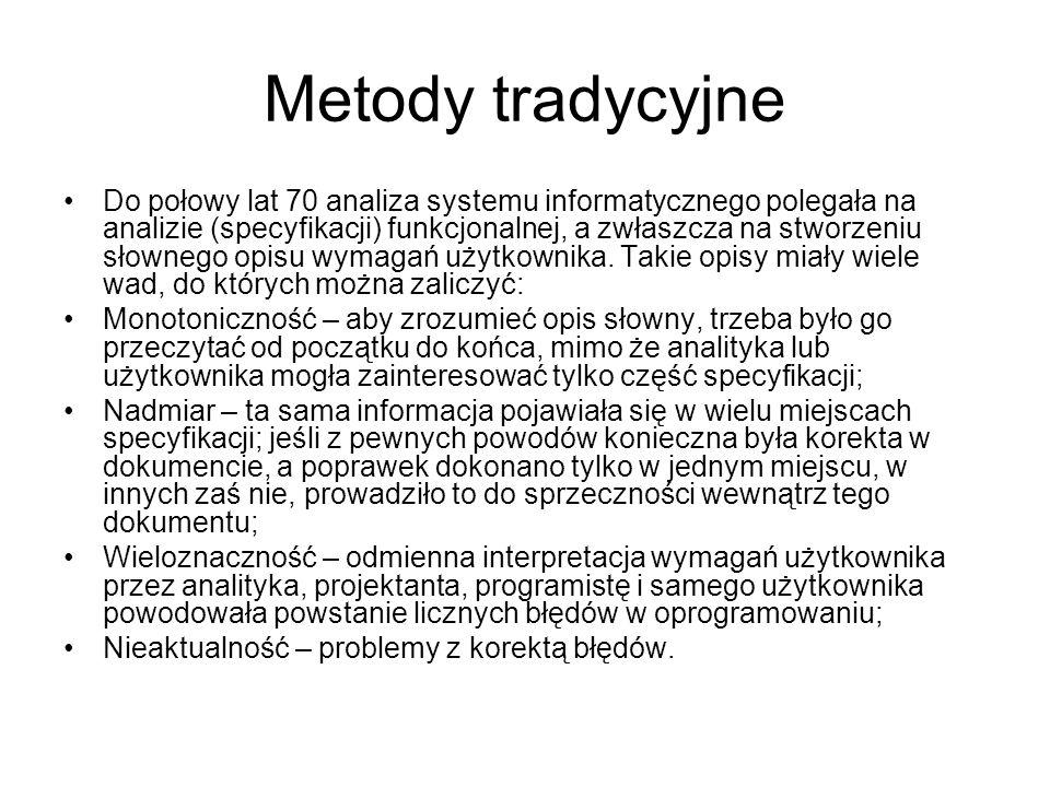 Metody tradycyjne