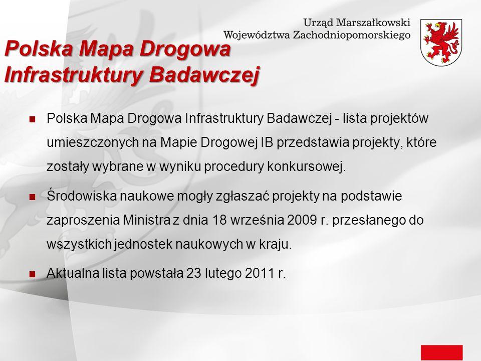 Polska Mapa Drogowa Infrastruktury Badawczej