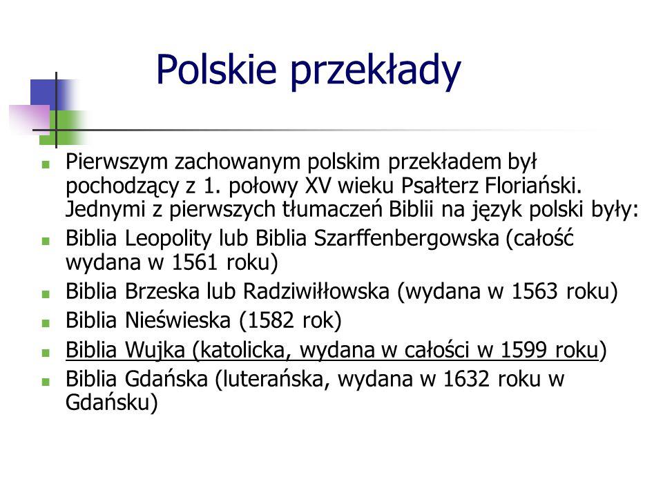 Polskie przekłady
