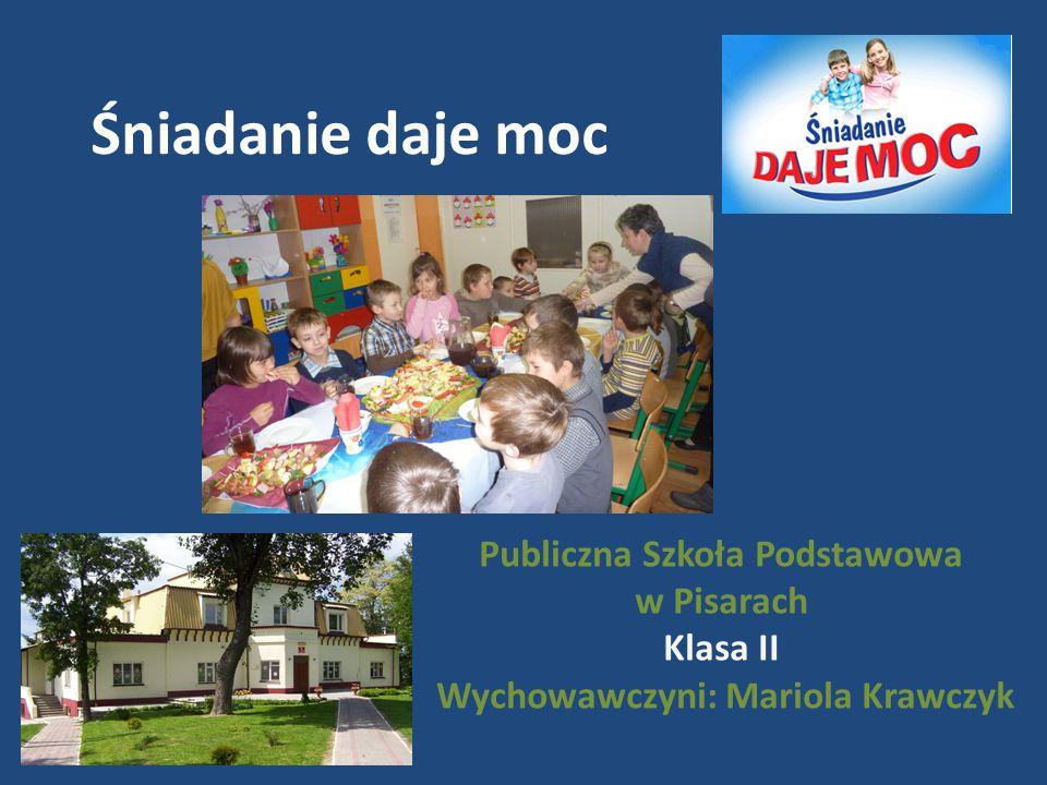 Publiczna Szkoła Podstawowa Wychowawczyni: Mariola Krawczyk