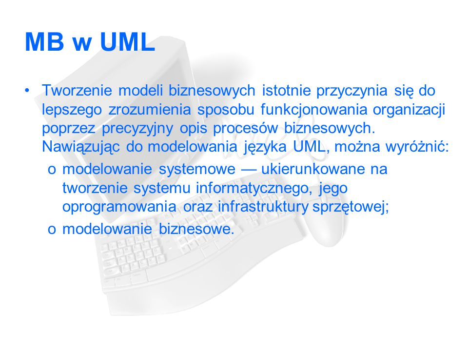 MB w UML