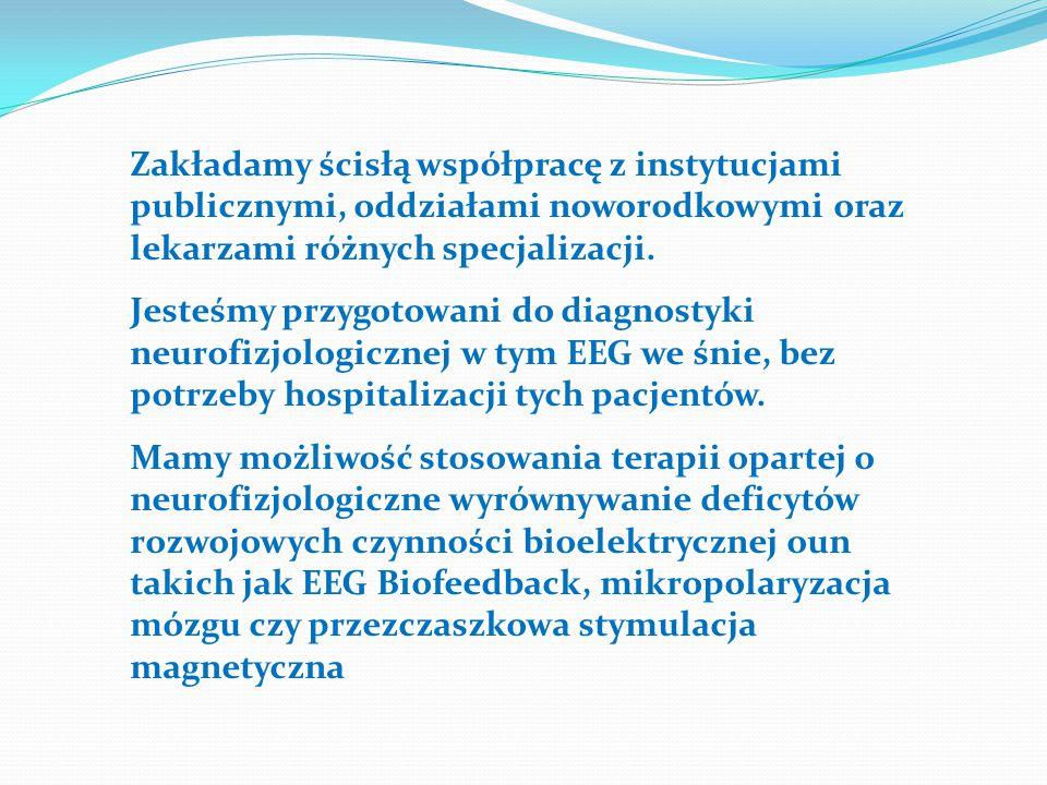 Zakładamy ścisłą współpracę z instytucjami publicznymi, oddziałami noworodkowymi oraz lekarzami różnych specjalizacji.