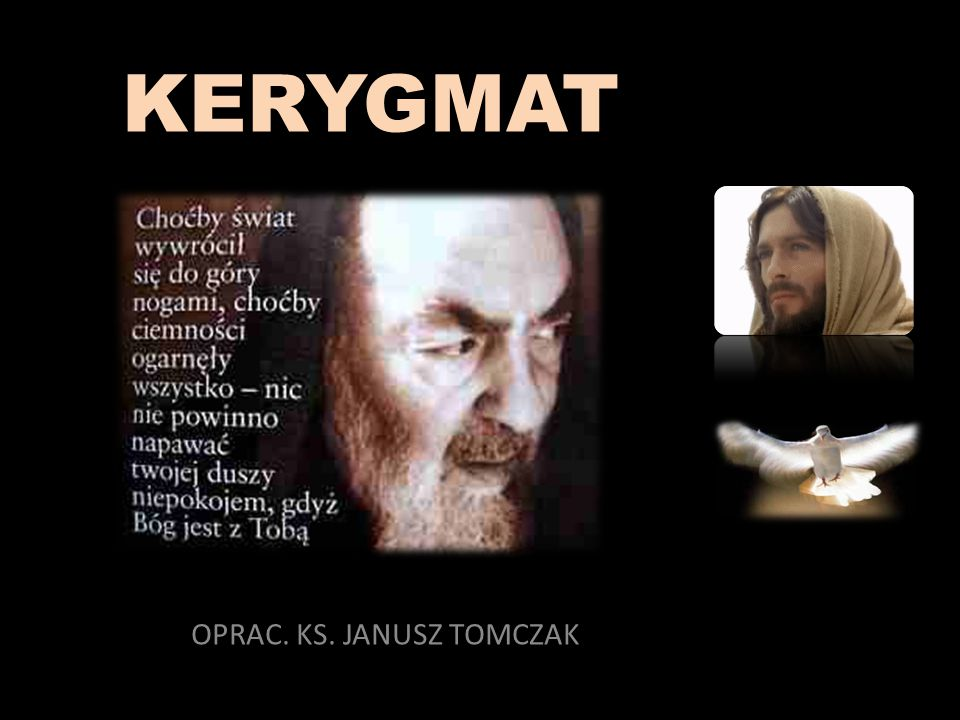 OPRAC. KS. JANUSZ TOMCZAK