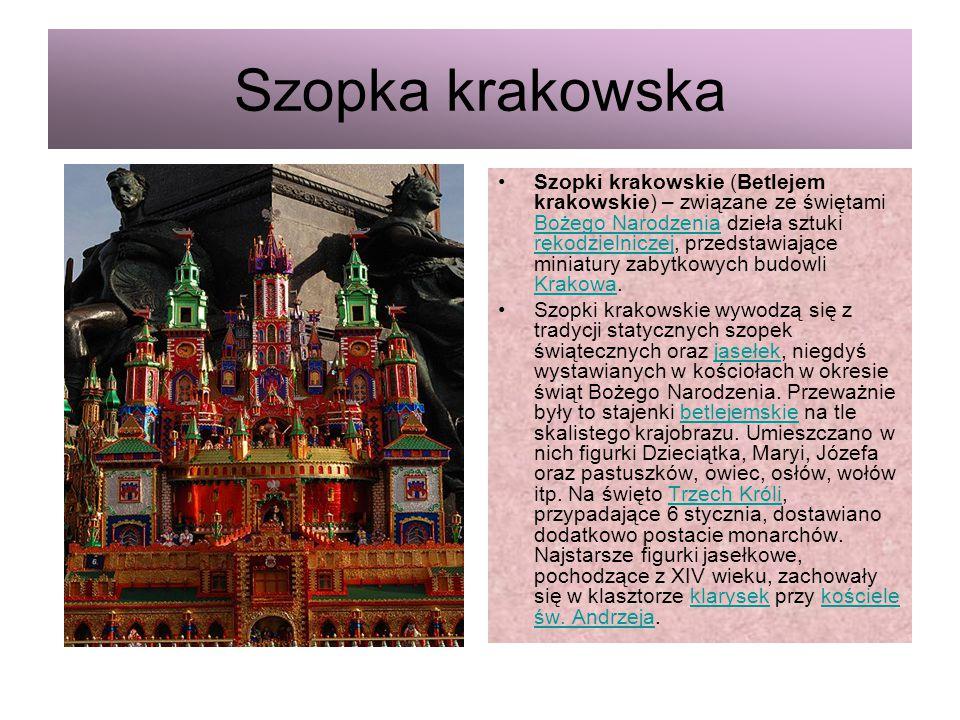 Szopka krakowska