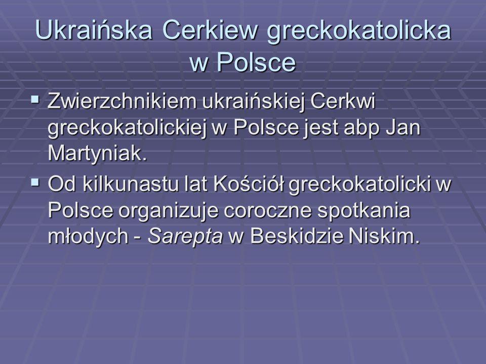 Ukraińska Cerkiew greckokatolicka w Polsce
