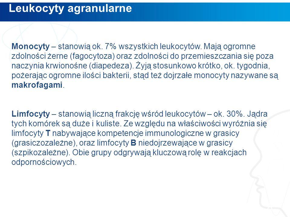 Leukocyty agranularne