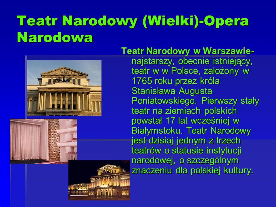 Teatr Narodowy (Wielki)-Opera Narodowa