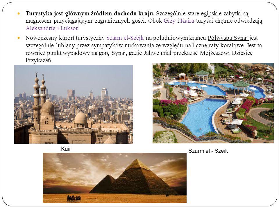 Turystyka jest głównym źródłem dochodu kraju