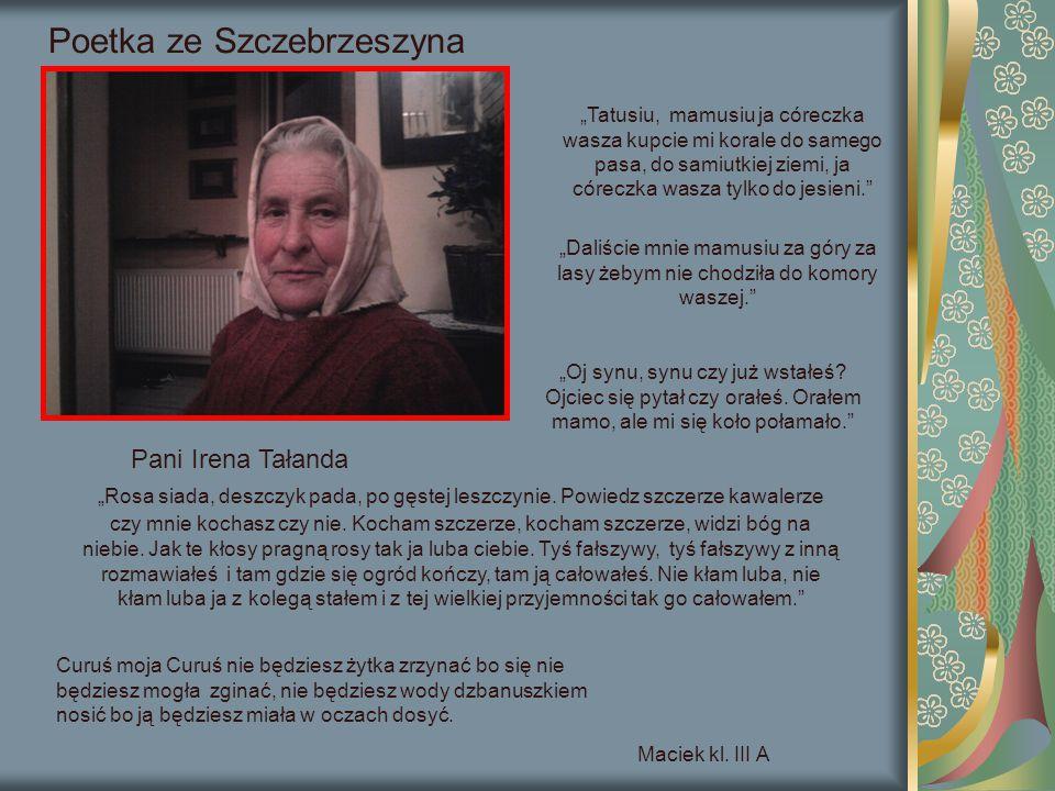 Poetka ze Szczebrzeszyna