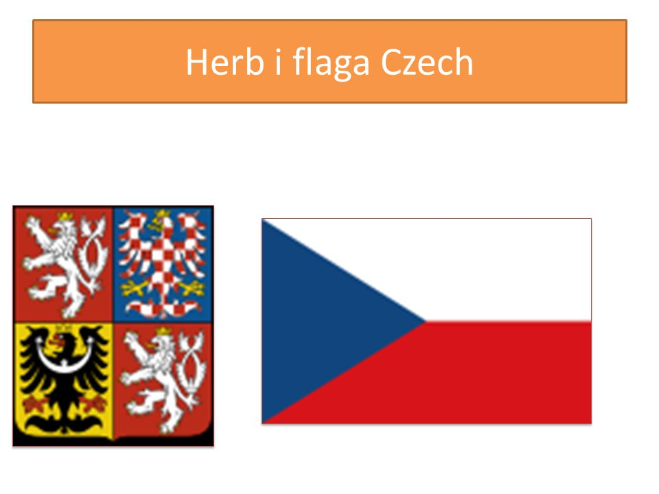 Herb i flaga Czech