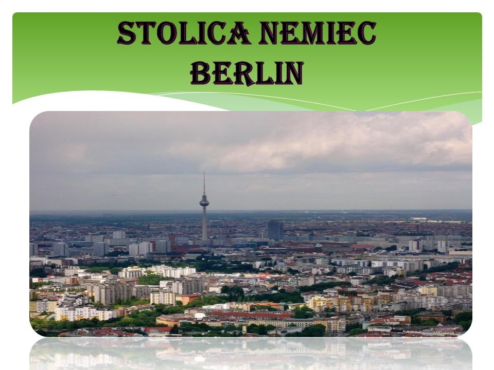 STOLICA NEMIEC BERLIN