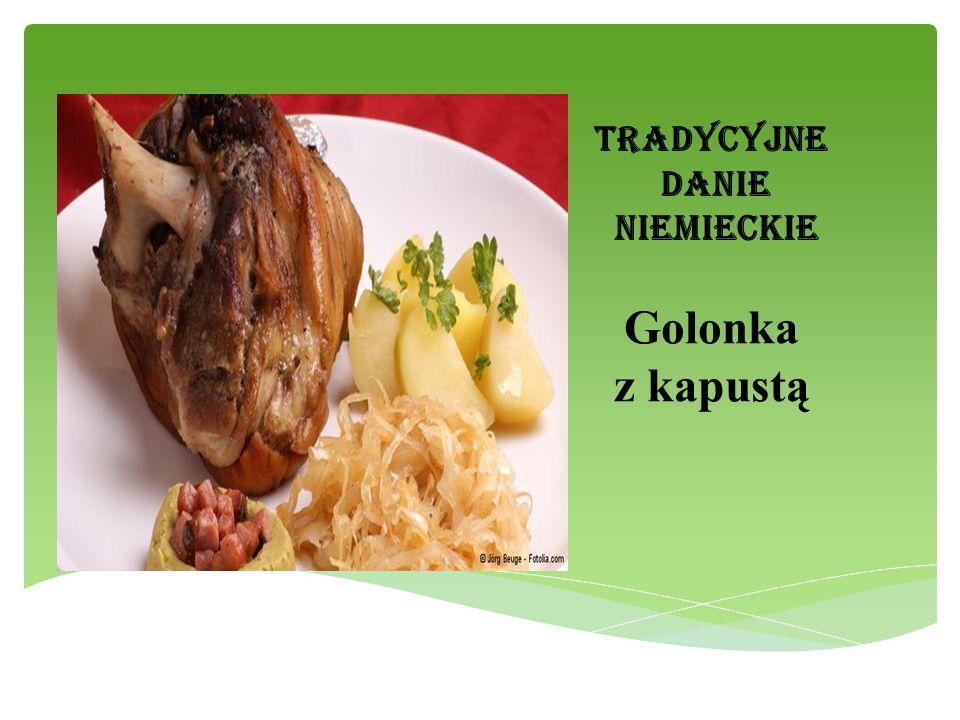 Tradycyjne danie niemieckie