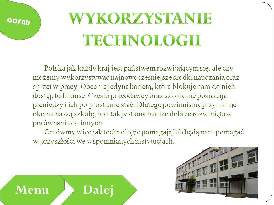 Wykorzystanie Technologii