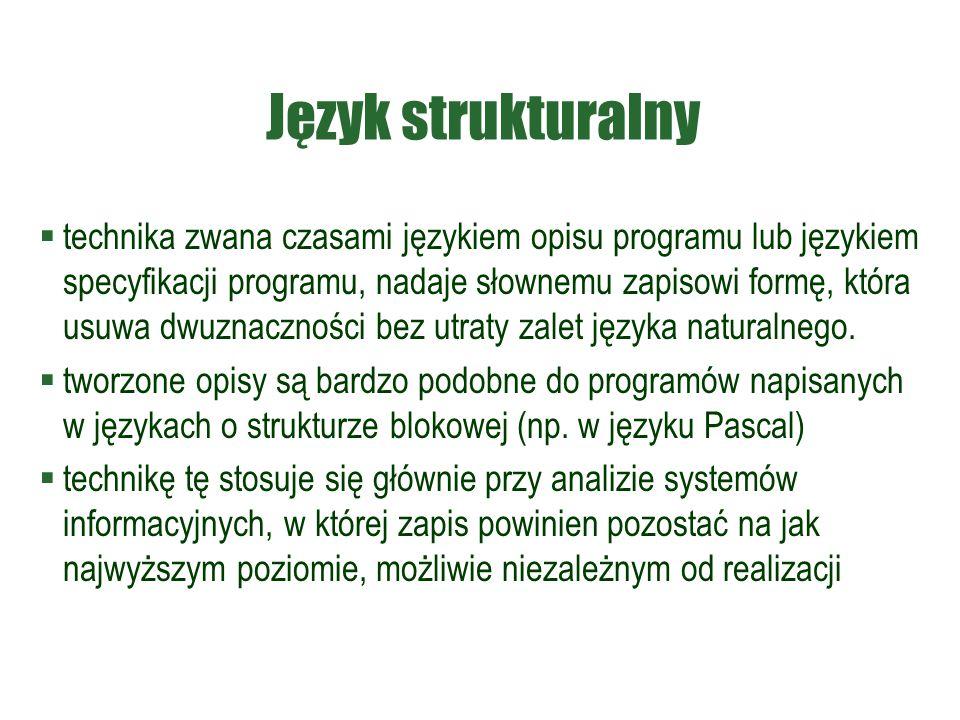 Język strukturalny