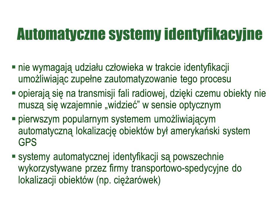 Automatyczne systemy identyfikacyjne