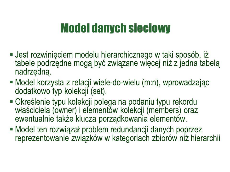 Model danych sieciowy