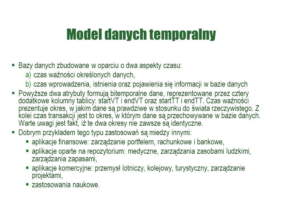 Model danych temporalny