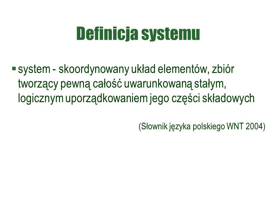 Definicja systemu