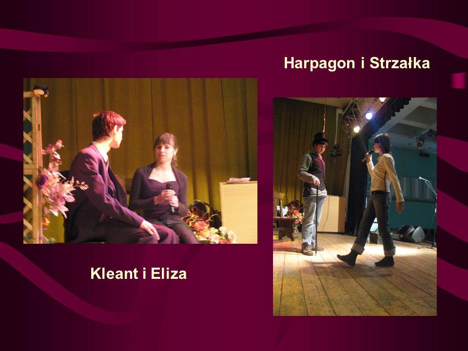 Harpagon i Strzałka Kleant i Eliza