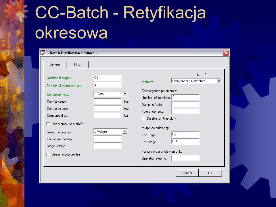CC-Batch - Retyfikacja okresowa