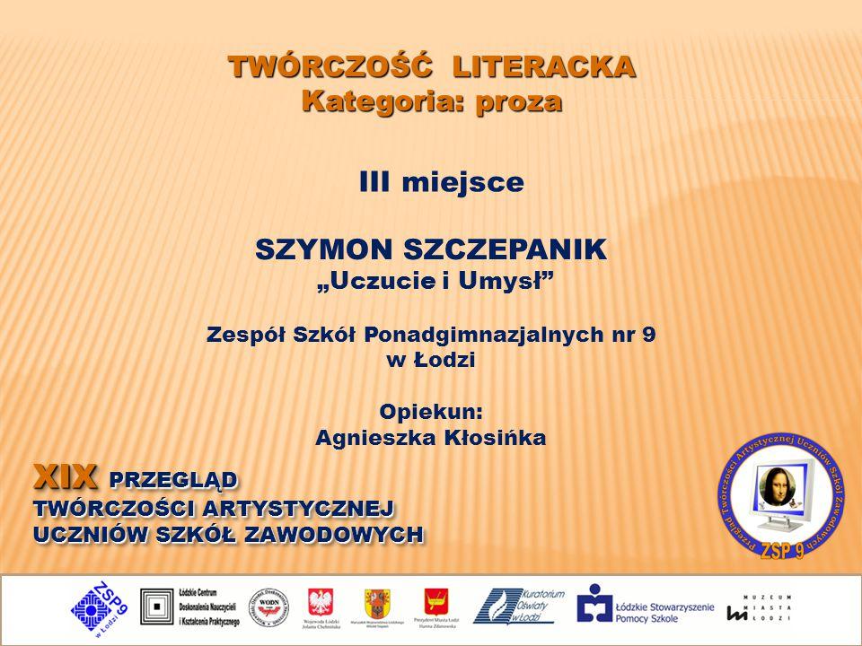 Zespół Szkół Ponadgimnazjalnych nr 9 w Łodzi