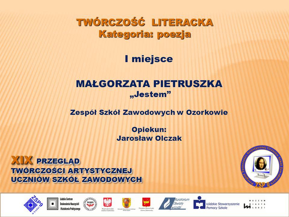Małgorzata pietruszka Zespół Szkół Zawodowych w Ozorkowie