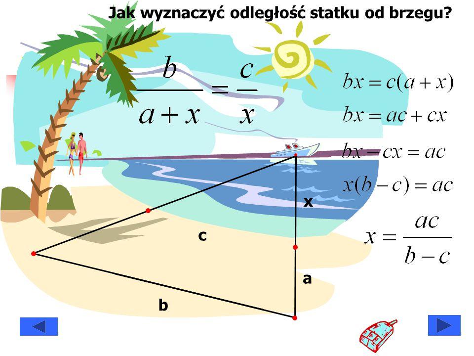 Jak wyznaczyć odległość statku od brzegu