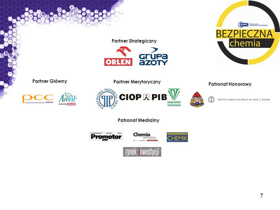 Partner Strategiczny Partner Główny Partner Merytoryczny Patronat Honorowy Patronat Medialny