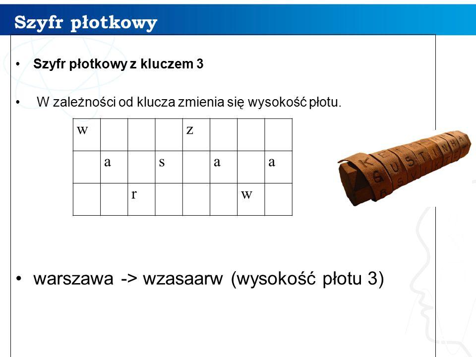 warszawa -> wzasaarw (wysokość płotu 3)
