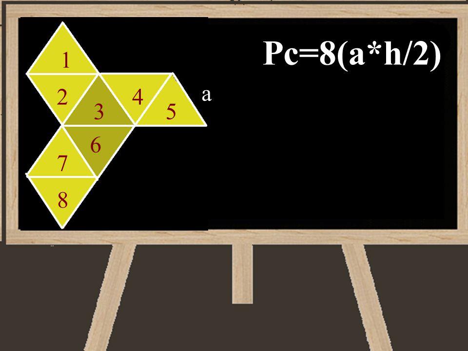 Pc=8(a*h/2) 1 a 2 4 3 5 6 7 8