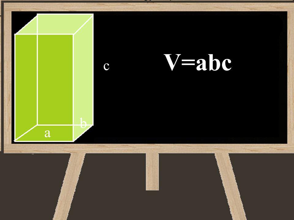 V=abc c b a