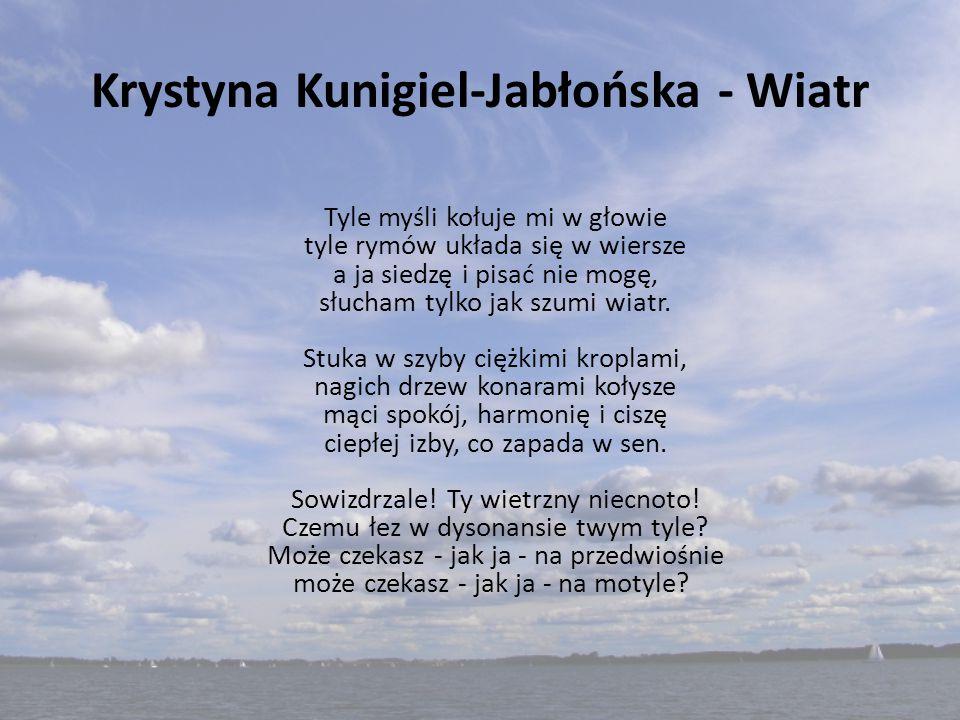 Krystyna Kunigiel-Jabłońska - Wiatr