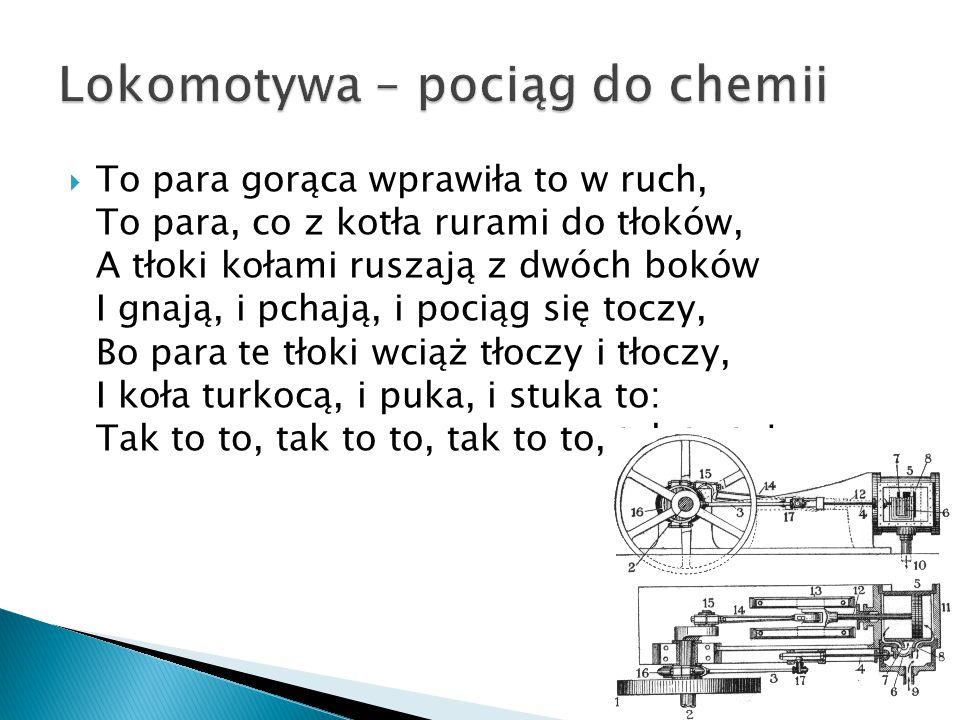 Lokomotywa – pociąg do chemii