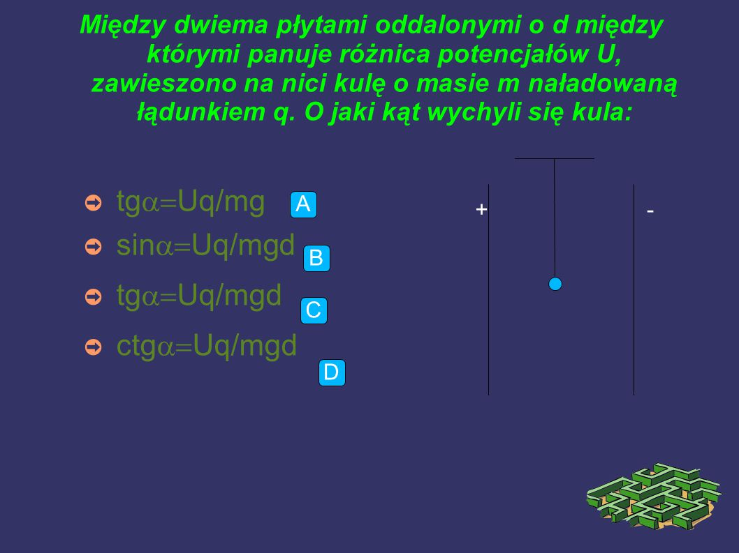 tga=Uq/mg sina=Uq/mgd tga=Uq/mgd ctga=Uq/mgd