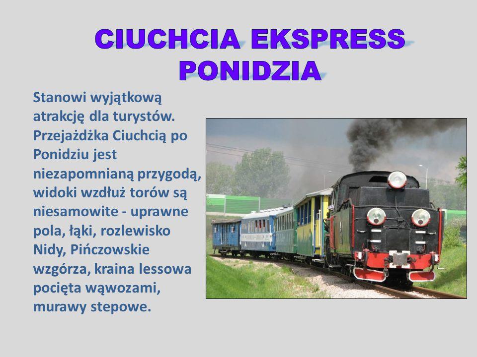 CIUCHCIA EKSPRESS PONIDZIA