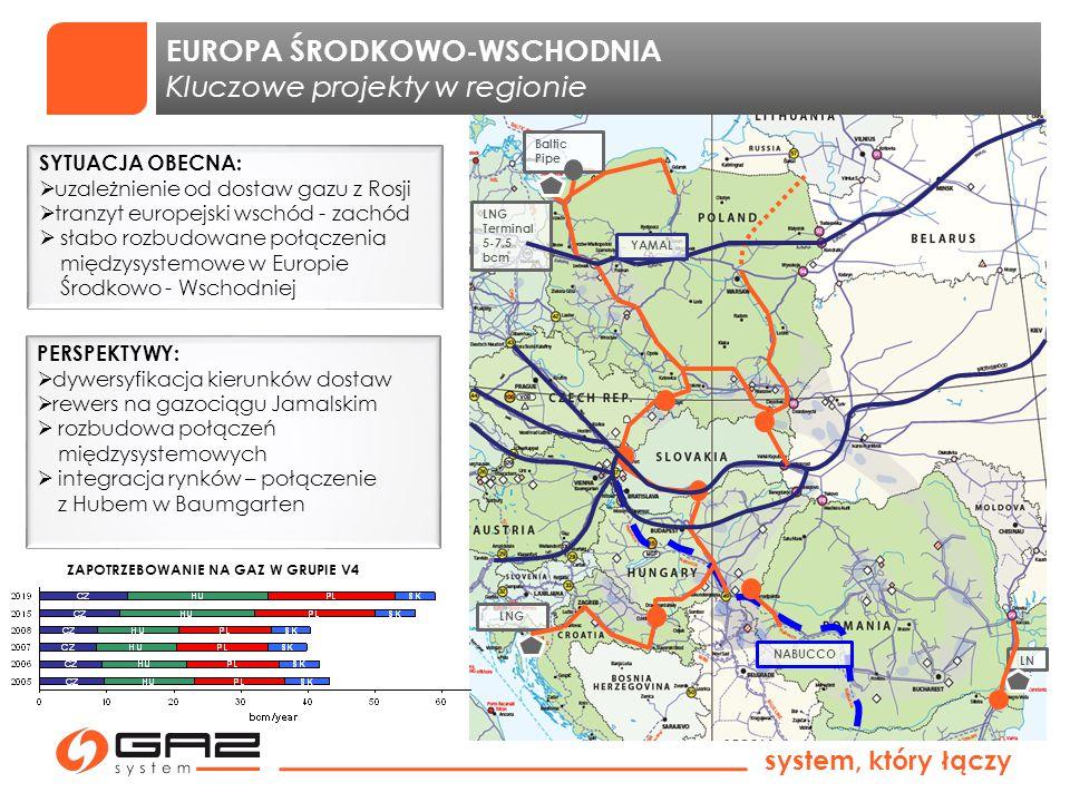 EUROPA ŚRODKOWO-WSCHODNIA Kluczowe projekty w regionie