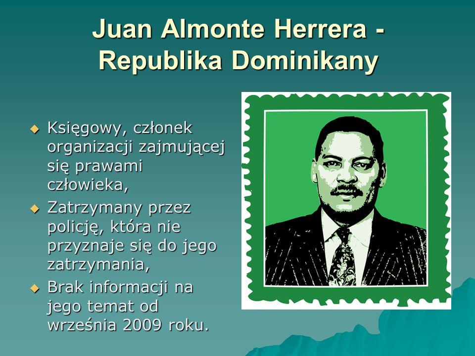 Juan Almonte Herrera - Republika Dominikany