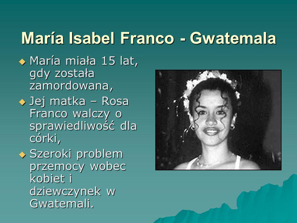 María Isabel Franco - Gwatemala