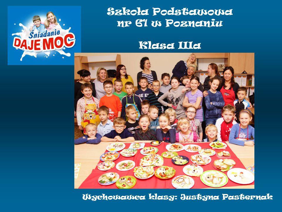 Szkoła Podstawowa nr 61 w Poznaniu Klasa IIIa