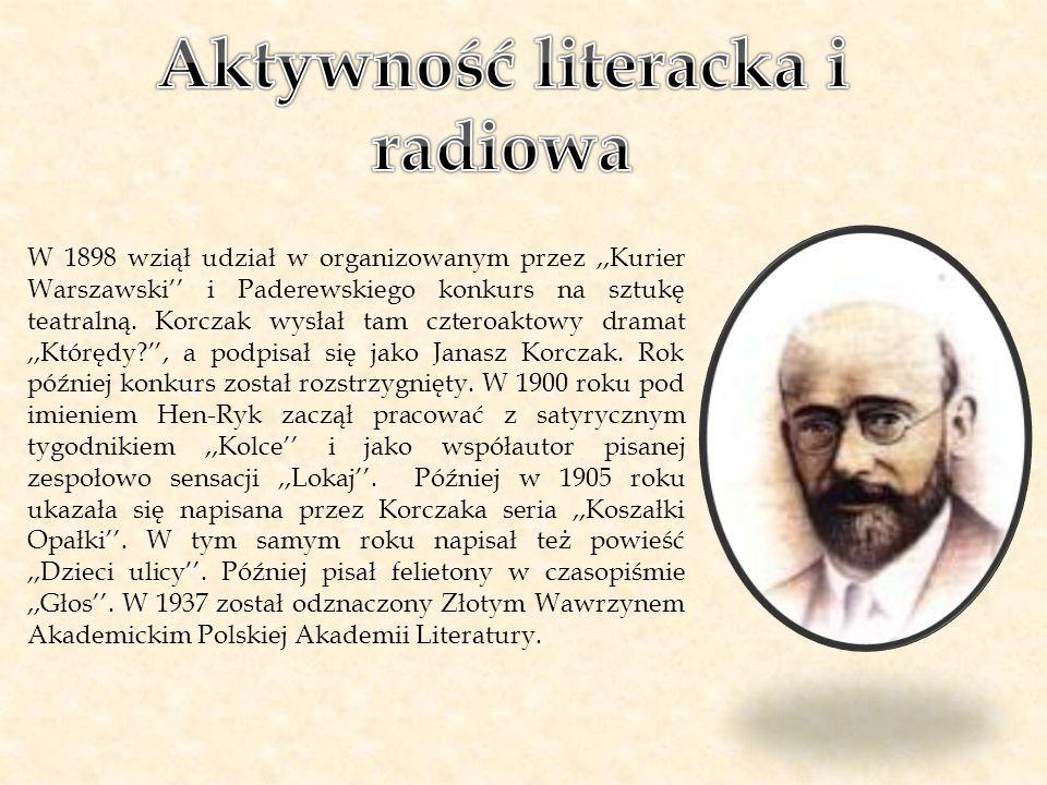 Aktywność literacka i radiowa