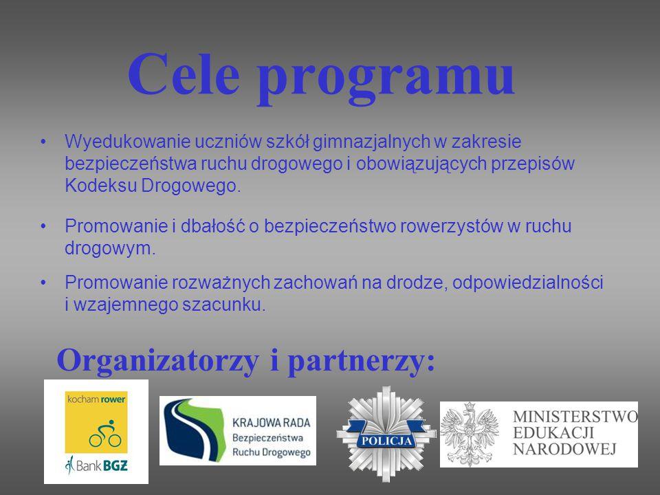 Cele programu Organizatorzy i partnerzy:
