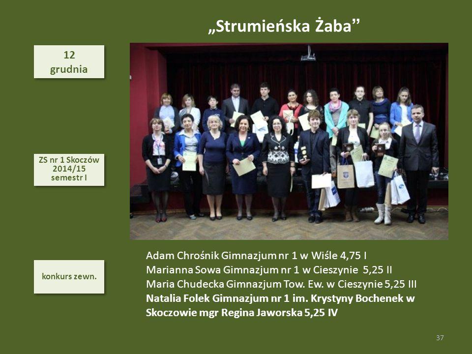 """Strumieńska Żaba 12 grudnia"