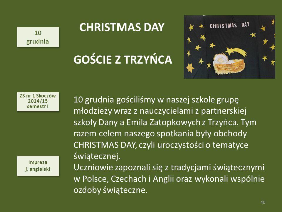CHRISTMAS DAY GOŚCIE Z TRZYŃCA